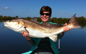 indian river bull redfish fishing