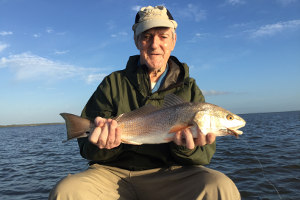catching redfish on fly mosquito lagoon