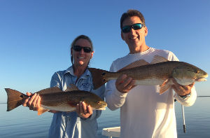mosquito lagoon fishing trip for red drum