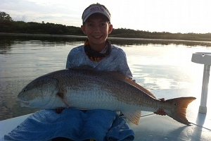 new smyrna 50lb redfish