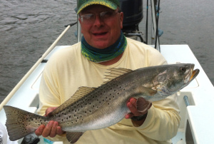 Mosquito Lagoon speckled trout