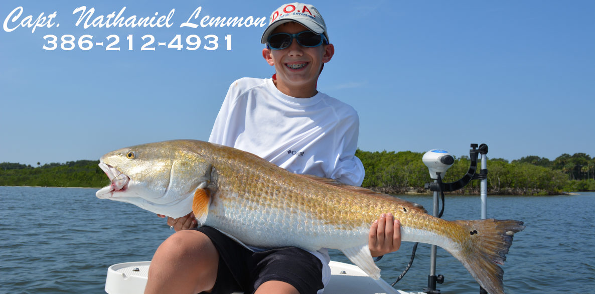 fishing for redfish new smyrna beach area florida